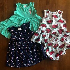 18-24 Month Dress Bundle Hanna Anderson, Gymboree